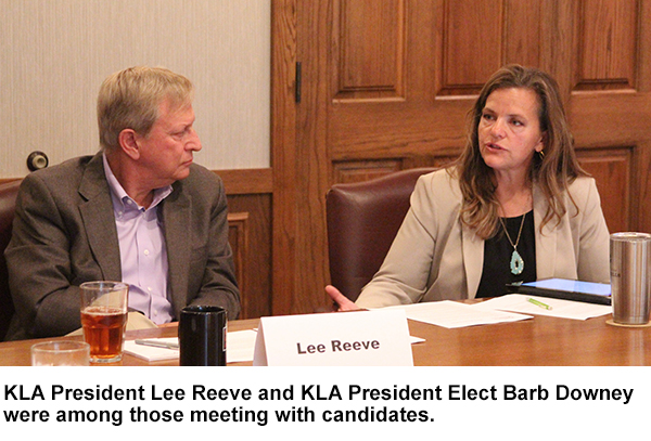 Gubernatorial Candidates Hear KLA Priorities During Special Forum