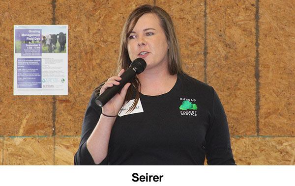 Quinter Field Day Audience Hears About Windbreak Benefits