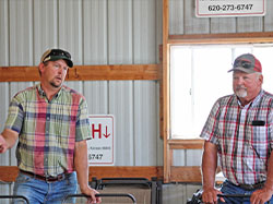 YSA Class Tours Cattle Businesses in Central, Western Kansas